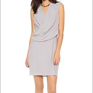 Helmut Lang Nexa Dress Light Grey Small